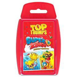 Juego cartas SuperZings Top Trumps - Imagen 1