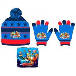Conjunto gorro guantes braga cuello Superzings - Imagen 1