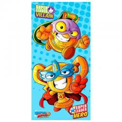 Toalla Hero and Villain Super Zings microfibra - Imagen 1