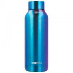 Botella Solid Blue Chrome Quokka 510ml - Imagen 1