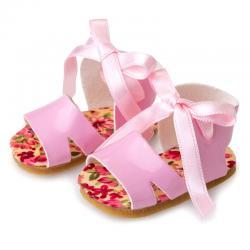Zapatos muñeca Berjuan sandalia rosa - Imagen 1