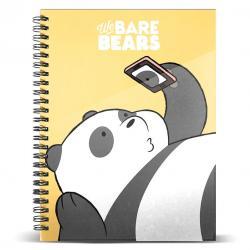 Cuaderno A4 Oso Panda We Bare Bears - Imagen 1