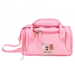 Bolsa portameriendas We Bare Bears rosa - Imagen 1