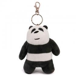 Llavero peluche Oso Panda We Bare Bears - Imagen 1