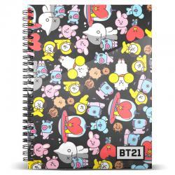 Cuaderno A4 BT21 - Imagen 1