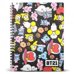 Cuaderno A5 BT21 - Imagen 1