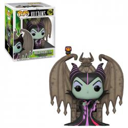 Figura POP Disney Villains Maleficent with Throne - Imagen 1