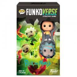 Juego mesa POP Funkoverse Rick & Morty 2fig Español - Imagen 1