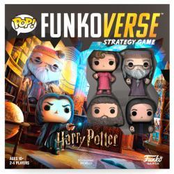 Juego mesa POP Funkoverse Harry Potter 4fig Ingles - Imagen 1