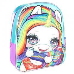 Mochila 3D premium glitter Poopsie 31cm - Imagen 1