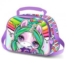 Bolsa portameriendas 3D Unicorn Poopsie - Imagen 1