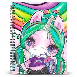 Libreta Unicorn Poopsie - Imagen 1