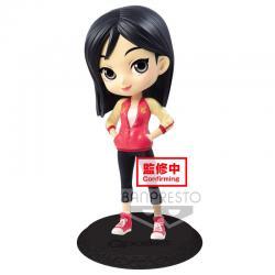 Figura Mulan Avatar Style Disney Characters Q Posket B 14cm - Imagen 1