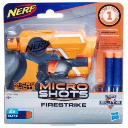 Lanzador Microshots Firestrike N-Strike Elite Nerf - Imagen 1