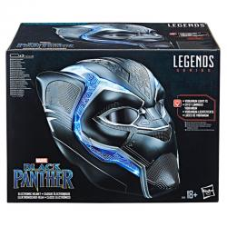 Casco Electronico Black Panther Marvel Legends - Imagen 1