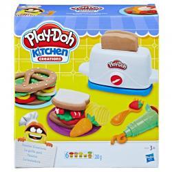 Tostadora Kitchen Creations Play-Doh - Imagen 1