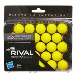 Set 25 Recargas Rival Nerf - Imagen 1
