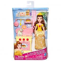 Muñeca Bella Cocina Real La Bella y La Bestia Princesas Disney 28cm - Imagen 1