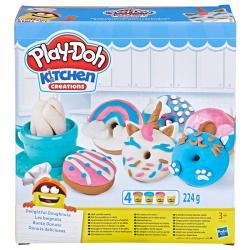 Donuts Deliciosos Kitchen Creations Play-Doh - Imagen 1
