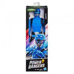 Figura Ranger Blue Power Ranger 30cm - Imagen 1