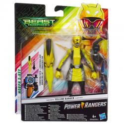 Figura Beast Morphers Yellow Ranger Power Rangers 15cm - Imagen 1