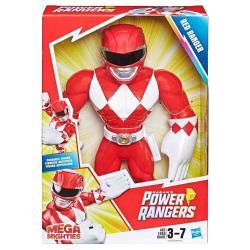 Figura Mega Mighties Red Ranger Power Rangers 25cm - Imagen 1