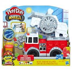 Camion de Bomberos Wheels Play-Doh - Imagen 1