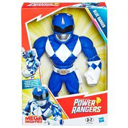 Figura Mega Mighties Blue Ranger Power Rangers 25cm - Imagen 1