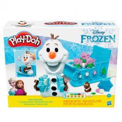 Olaf en Trineo Frozen Disney Play-Doh - Imagen 1