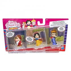 Set 3 figuras Blancanieves y los 7 Enanitos Disney 6cm - Imagen 1