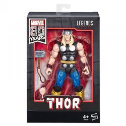Figura Thor 80 Aniversario Marvel Legends 15cm - Imagen 1