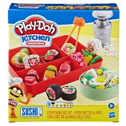 Sushi Kitchen Creations Play-Doh - Imagen 1