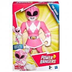 Figura Mega Mighties Pink Ranger Power Rangers 25cm - Imagen 1