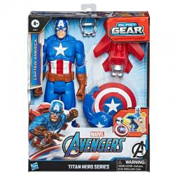 Figura Titan Capitan America Vengadores Avengers Marvel - Imagen 1