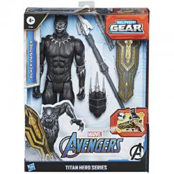 Figura Titan Hero Series Black Panther Vengadores Marvel 30cm - Imagen 1