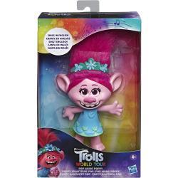 Muñeca cantarina Poppy Trolls World Tour Ingles - Imagen 1
