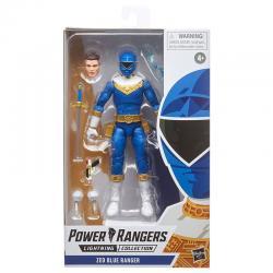 Figura Blue Ranger Power Rangers 15cm - Imagen 1