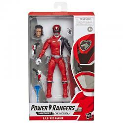 Figura Red Ranger Power Rangers 15cm - Imagen 1