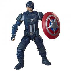 Figura Legends Gameverse Capitan America Vengadores Avengers Marvel 15cm - Imagen 1