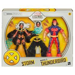 Set figuras Storm and Thunderbird X-Men Marvel 15cm - Imagen 1