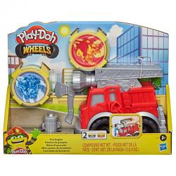 Mini Camion de Bomberos Play-Doh - Imagen 1
