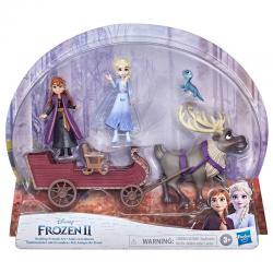 Set figuras Aventuras en Trineo Frozen 2 Disney - Imagen 1