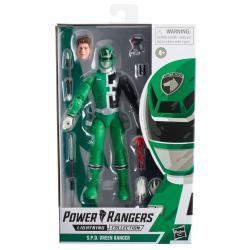 Figura S.P.D. Green Ranger Power Rangers 15cm - Imagen 1