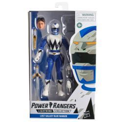 Figura Lost Galaxy Blue Ranger Power Rangers 15cm - Imagen 1