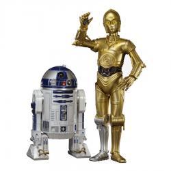 Set 2 figuras C-3PO & R2-D2 Star Wars ArtFX+ - Imagen 1