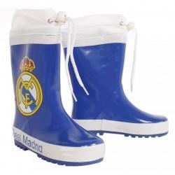 Botas agua Real Madrid azul cierre ajustable - Imagen 1