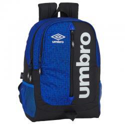 Mochila Umbro Black & Blue adaptable 44cm - Imagen 1
