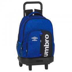 Trolley compact Umbro Black & Blue 45cm - Imagen 1