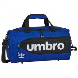 Bolsa deporte Umbro Black & Blue 50cm - Imagen 1