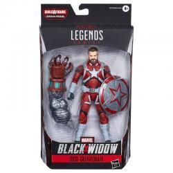 Figura Legends Crimson Black Widow Marvel 15cm - Imagen 1